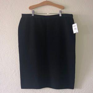 Rachel Roy skirt black size 1X NWT $99